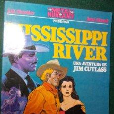Cómics: METAL HURLANT Nº 1 JIM CUTLASS MISISSIPPI RIVER. Lote 81828552