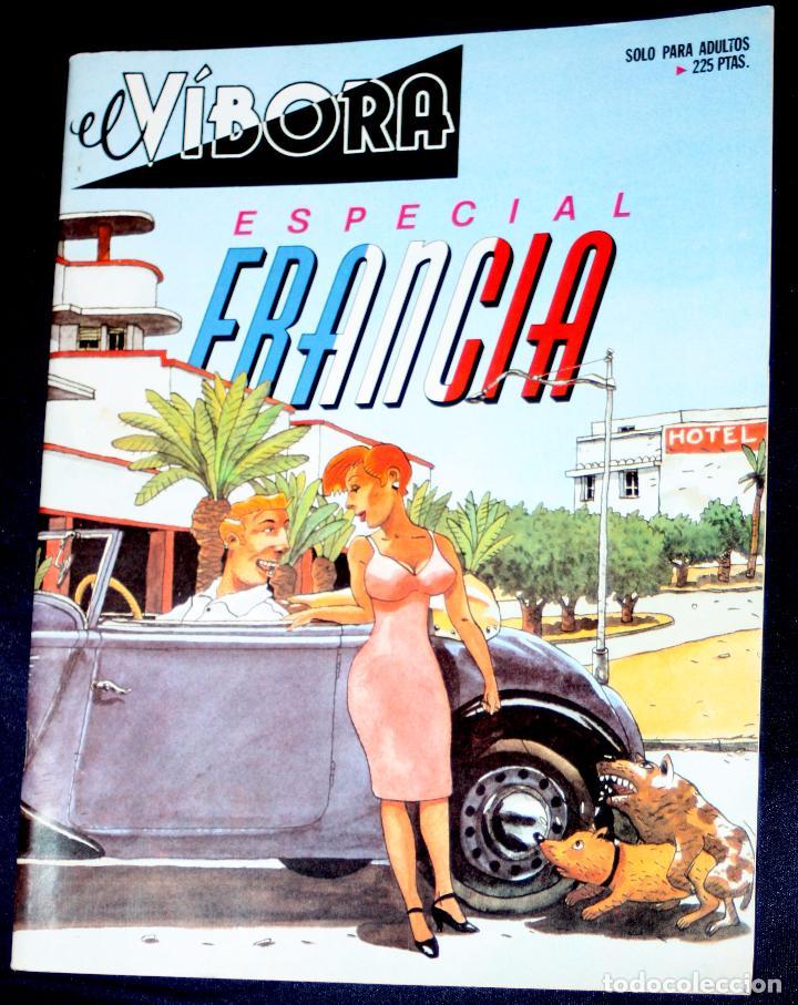 EL VIBORA: ESPECIAL FRANCIA ( MBE) (Tebeos y Comics - La Cúpula - El Víbora)