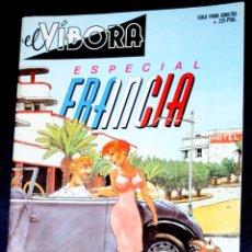 Cómics: EL VIBORA: ESPECIAL FRANCIA ( MBE). Lote 81831784