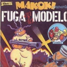 Cómics: VIVORA - MAKOKI - FUGA EN LA MODELO - GALLARDO & MEDIAVILLA. Lote 82024776