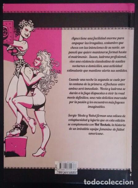 Cómics: LA NOVIA Y LA LADRONA / HOT ROCKETS. SERGIO BLEDA Y RAKEL. ( COMIC ERÓTICO PORNO EXPLÍCITO) - Foto 3 - 82723436