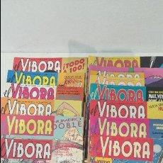 Cómics: LOTE 13 NUMEROS DE VIBORA. Lote 82880800