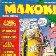 Cómics: MAKOKI 1ª EPOCA Nº 10 - ESPECIAL MILI - CON AZAGRA, VALLES, GALLARDO, MEDIAVILLA, SHELTON, MONTESOL. Lote 84994980