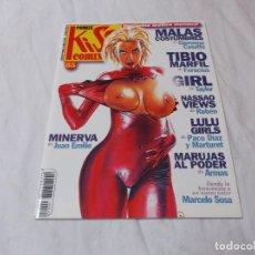 Comics : KISS COMIX Nº 85, MAGAZINE EROTICO MENSUAL, SOLO PARA ADULTOS . Lote 85378244