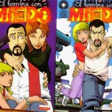 Cómics: LOTE DE 2 COMICS DE EL HOMBRE CON MIEDO. Lote 86307180