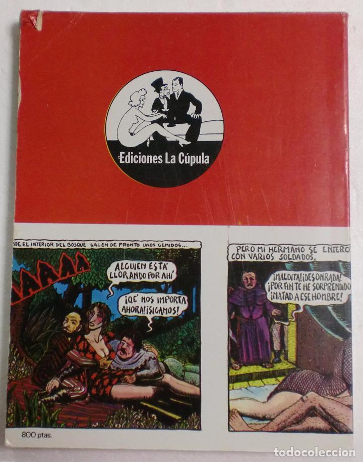 Cómics: EL VÍBORA PRESENTA - ANTOLOGÍA ESPAÑOLA DEL UNDERGROUND - COMIX. EDICIONES LA CÚPULA 1981 - Foto 2 - 126139540