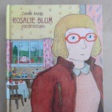 Cómics: ROSALIE BLUM: EDICION INTEGRAL - LA CÚPULA - CAMILLE JOURDY - TOMO 370 PAGS. Lote 87678168