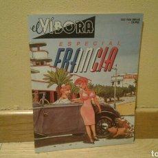 Cómics: EL VIBORA ESPECIAL FRANCIA. Lote 87984344