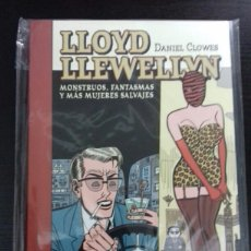 Cómics: LLOYD LLEWELLYN 2. MONSTRUOS, FANTASMAS Y MÁS MUJERES SALVAJES - DANIEL CLOWES - LA CÚPULA. Lote 88382898