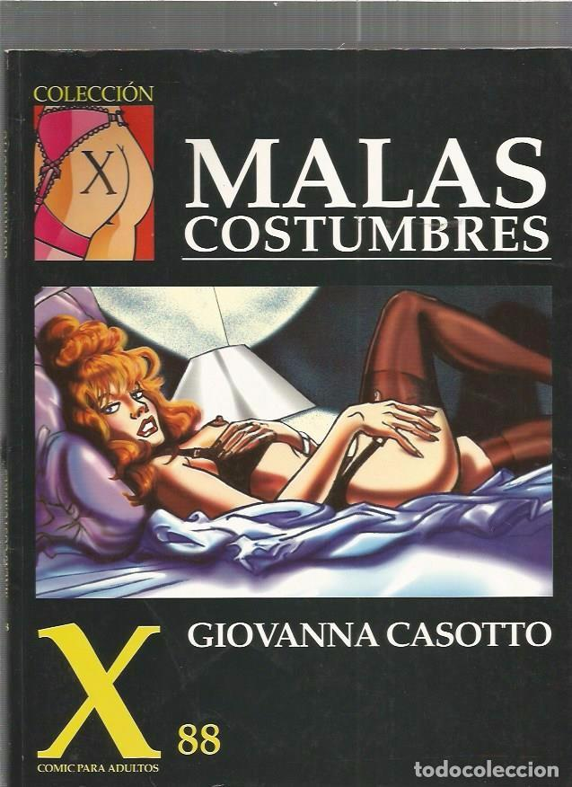 COLECCION X 88 MALAS (Tebeos y Comics - La Cúpula - Comic Europeo)