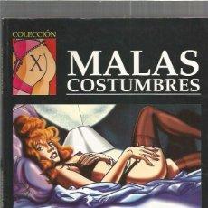 Cómics: COLECCION X 88 MALAS. Lote 88880000