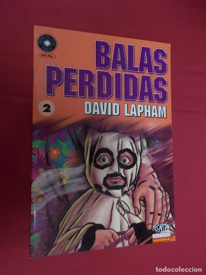 BALAS PERDIDAS. Nº 2. LA CÚPULA . (Tebeos y Comics - La Cúpula - Comic USA)