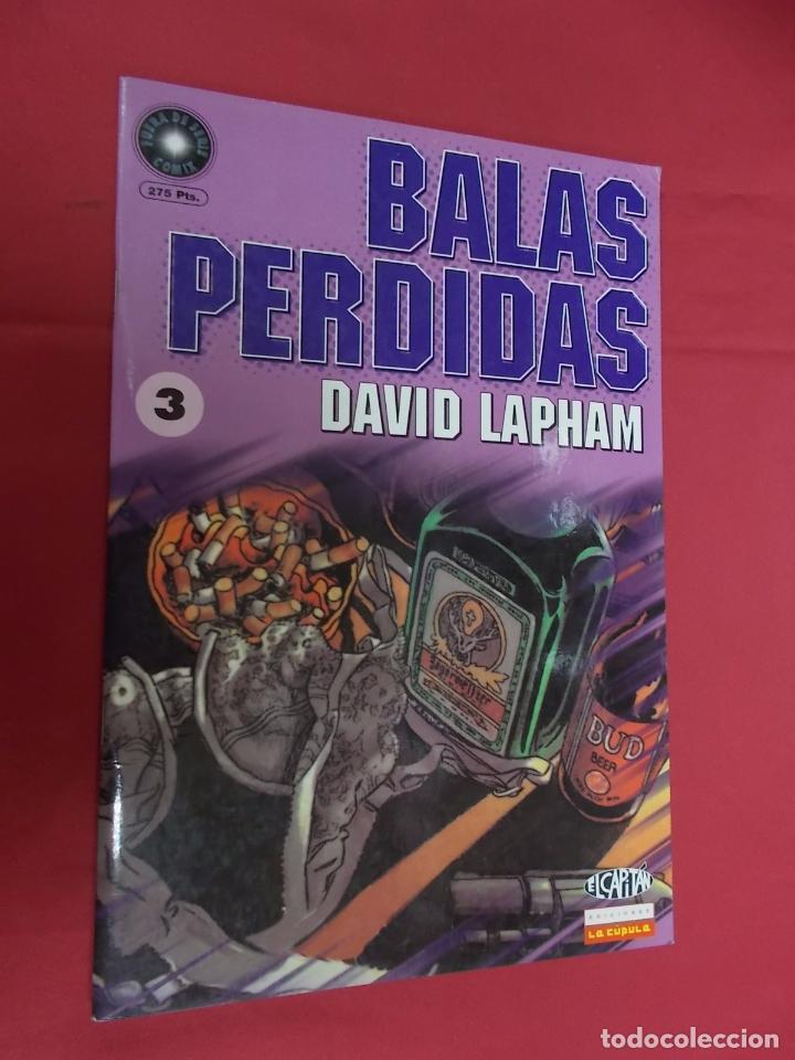 BALAS PERDIDAS. Nº 3. LA CÚPULA . (Tebeos y Comics - La Cúpula - Comic USA)