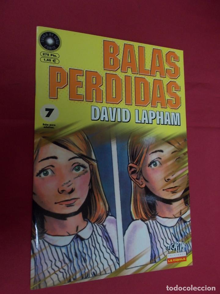 BALAS PERDIDAS. Nº 7. LA CÚPULA . (Tebeos y Comics - La Cúpula - Comic USA)