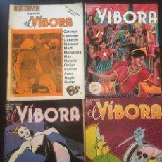 Cómics: EL VIBORA LOTE 7 NUMEROS :26,51,53,59,129,143 Y EL VINOR ESPECIAL. Lote 90136962