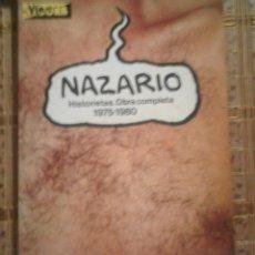 Cómics: NAZARIO - HISTORIETAS. OBRA COMPLETA 1975-1980 - EL VÍBORA. Lote 90225132