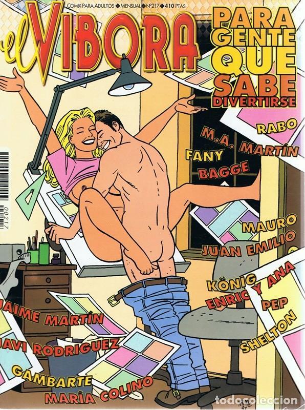 CÓMIC EL VIBORA Nº 217 (Tebeos y Comics - La Cúpula - El Víbora)