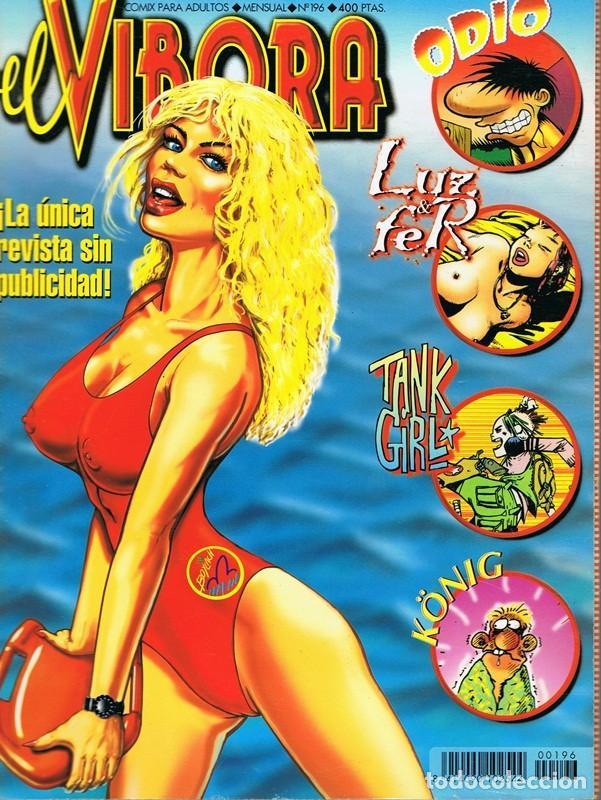 CÓMIC EL VIBORA Nº 196 (Tebeos y Comics - La Cúpula - El Víbora)