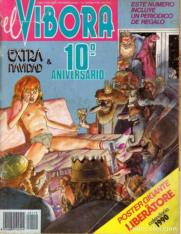 CÓMIC EL VIBORA Nº 119 - 120 (Tebeos y Comics - La Cúpula - El Víbora)