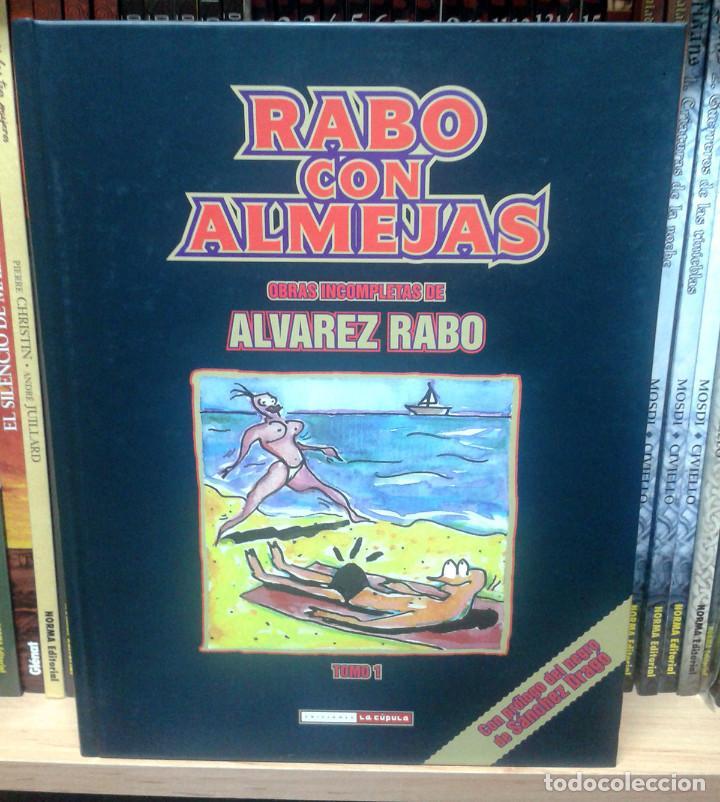 RABO CON ALMEJAS, DE ALVAREZ RABO (Tebeos y Comics - La Cúpula - Autores Españoles)