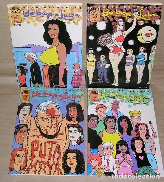 BE-BOP-A-LUBA (DE BETO HERNANDEZ ) – OBRA COMPLETA – (Tebeos y Comics - La Cúpula - Autores Españoles)