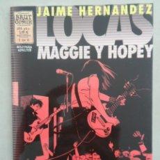 Cómics: LOCAS: MAGGIE Y HOPEY Nº 1 (DE 6) - POSIBLE ENVÍO GRATIS - LA CÚPULA / BRUT COMIX - JAIME HERNANDEZ. Lote 93657450
