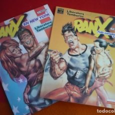 Cómics: RANX 1 Y 2 FELIZ CUMPLEAÑOS LUBNA + EN NUEVA YORK ( LIBERATORE ) ¡MUY BUEN ESTADO! LA CUPULA. Lote 93680580