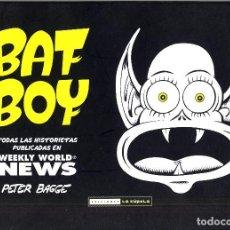 Cómics: BAT BOY DE PETER BAGGE TAPAS DURAS AÑO 2011 ARMARIO ISA 2ª ESTANTERIA. Lote 93908335