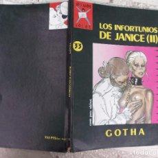 Cómics: COLECCION COLOR Nº 33 LOS INFORTUNIOS DE JANICE (II), DE GOTHA ,LA CUPULA ,1990,. Lote 95121351
