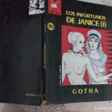 Cómics: COLECCION COLOR Nº 30 LOS INFORTUNIOS DE JANICE (1), DE GOTHA ,LA CUPULA ,1990, . Lote 95121439