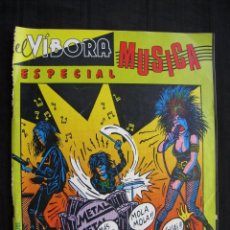 Cómics: EL VIBORA ESPECIAL MUSICA.. Lote 95214811