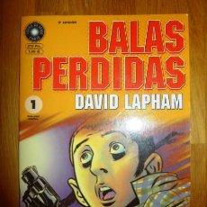 Cómics: BALAS PERDIDAS. Nº 1 : LA MEDIDA DEL AMOR / DAVID LAPHAM. Lote 95693347