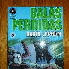 Cómics: BALAS PERDIDAS. Nº 5 : LA FURGONETA / DAVID LAPHAM. Lote 95693775