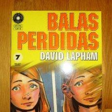 Cómics: BALAS PERDIDAS. Nº 7 : ¡LIBERTAD! / DAVID LAPHAM. Lote 95693887