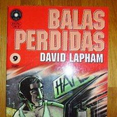 Cómics: BALAS PERDIDAS. Nº 9 : VEINTIOCHO TIPOS LLAMADOS NICK / DAVID LAPHAM. Lote 95693955