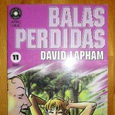 Cómics: BALAS PERDIDAS. Nº 11 : LA MEJOR DE LAS AMIGAS / DAVID LAPHAM. Lote 95694039