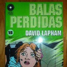 Cómics: BALAS PERDIDAS. Nº 15 : DE ÁNGELES Y DEMONIOS / DAVID LAPHAM. Lote 95694155