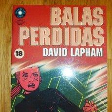 Cómics: BALAS PERDIDAS. Nº 18 : SEXO Y VIOLENCIA / DAVID LAPHAM. Lote 95694435