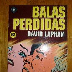 Cómics: BALAS PERDIDAS. Nº 19 : ¡CHICAS DESNUDAS EN VIVO! / DAVID LAPHAM. Lote 95694467