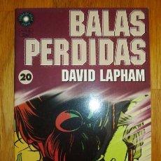 Cómics: BALAS PERDIDAS. Nº 20 : MOTEL / DAVID LAPHAM. Lote 95694503