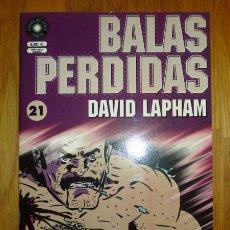 Cómics: BALAS PERDIDAS. Nº 21 : PEQUEÑA TRAGEDIA DE AMOR / DAVID LAPHAM. Lote 95694547