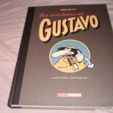 Cómics: LAS AVENTURAS DE GUSTAVO (EDICIÓN INTEGRAL) MAX EDICIONES LA CÚPULA 2010. Lote 96972663