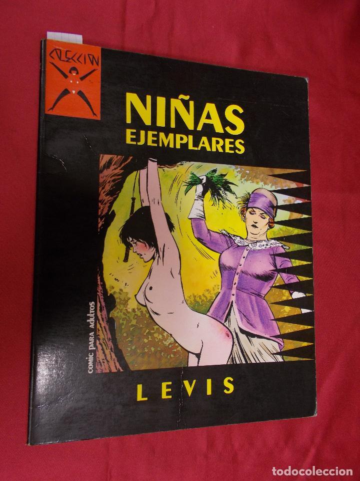 COLECCIÓN X. NIÑAS EJEMPLARES. LEVIS. LA CÚPULA (Tebeos y Comics - La Cúpula - Comic Europeo)