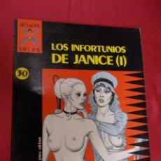 Cómics: COLECCIÓN X. Nº 30. LOS INFORTUNIOS DE JANICE I. GOTHA. DEFORGES . LA CÚPULA. Lote 98593339