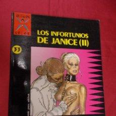 Comics: COLECCIÓN X. Nº 33. LOS INFORTUNIOS DE JANICE II. GOTHA. DEFORGES . LA CÚPULA. Lote 180932662