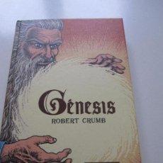 Cómics: GENESIS ROBERT CRUMB LA CUPULA EDICIONES. Lote 98766027