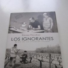 Cómics: LOS IGNORANTES (COSECHA 2014) - ÉTIENNE DAVODEAU LA CUPULA EP3. Lote 98767047