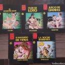 Cómics: COLECCIÓN X LOTE DE 5 TOMOS (6-7-8-13-16) DE LA CUPULA 1988. Lote 99792415