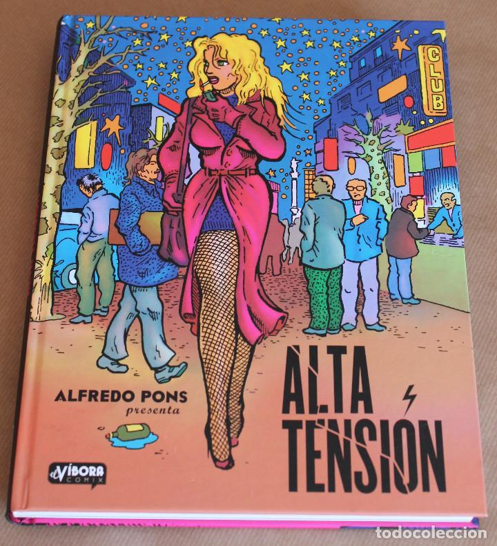 ALTA TENSIÓN - ALFREDO PONS - LA CÚPULA, 1ª ED., AÑO 2013 - MUY BUEN ESTADO (Tebeos y Comics - La Cúpula - Autores Españoles)