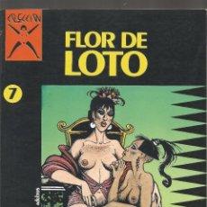 Cómics: COMIC PARA ADULTOS LA CUPULA FLOR DE LOTO Nº 7. Lote 100746159